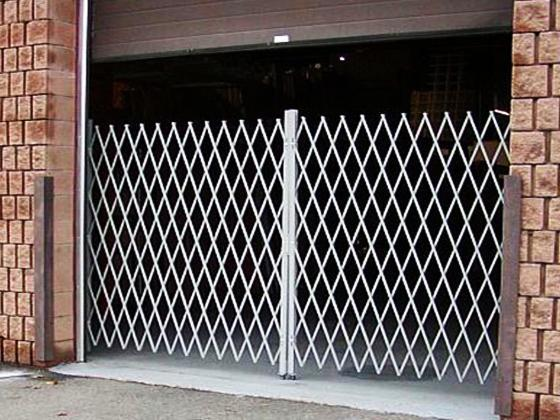 Superieur Collapsible And Folding Security Solution For Shipping Door, Dock Door And  Receiving Doors.